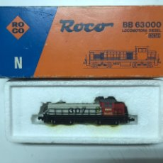 Trenes Escala: LOCOMOTORA ROCO RENFE 307 GRIS Y ROJA. Lote 222681636
