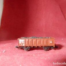 Trenes Escala: VAGÓN BORDE ALTO ESCALA N DE ROCO. Lote 224843833