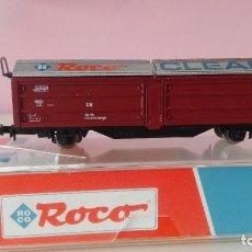 Trenes Escala: ROCO 25083, VAGÓN LIMPIADOR. Lote 226176123