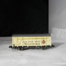 Comboios Escala: VAGÓN CERRADO ESCALA N DE ROCO. Lote 233411155