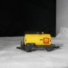 Trains Échelle: VAGÓN CISTERNA SHELL ESCALA N DE ROCO. Lote 233411400