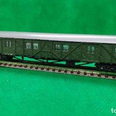 Trenes Escala: LOTE VAGONES ROCO 4 EJES FURGONES REF: 02371A 02371B 02370A. Lote 235819750