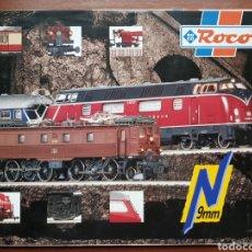 Trenes Escala: CATÁLOGO ROCO ESCALA N AÑO 95-97. Lote 243478015