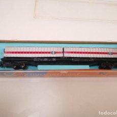 Trenes Escala: ROCO 2359 VAGON CONTENEDOR PLANA. Lote 244783200