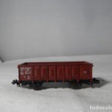 Trenes Escala: VAGÓN BORDE ALTO ESCALA N DE ROCO. Lote 246071725