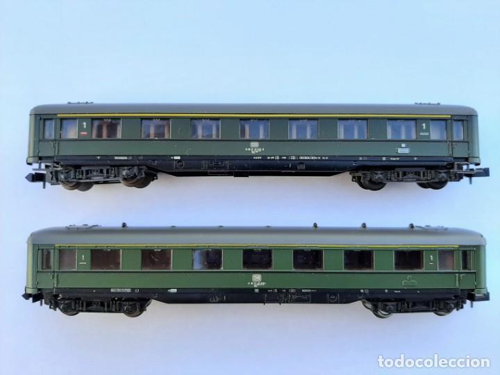 ROCO-24236 N. PAREJA DE COCHES DE PASAJEROS SCHÜRZENWAGEN (Juguetes - Trenes a Escala N - Roco N)