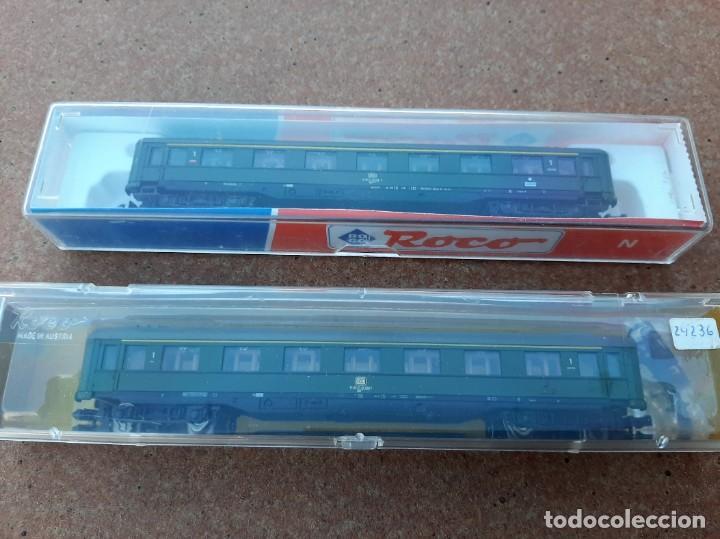 Trenes Escala: Roco-24236 N. Pareja de coches de pasajeros Schürzenwagen - Foto 6 - 248590370