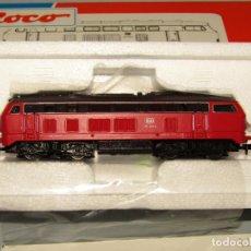 Trenes Escala: LOCOMOTORA DIESEL BR V 215 DE LA DB EN ESCALA *N* REF. 23219 DE ROCO. Lote 252172200