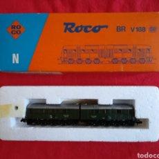 Trenes Escala: LOCOMOTORA ROCO BR V 188 - ROCO RF. 23266 - EN SU CAJA ORIGINAL, SIN ESTRENAR - PJRB. Lote 253546735