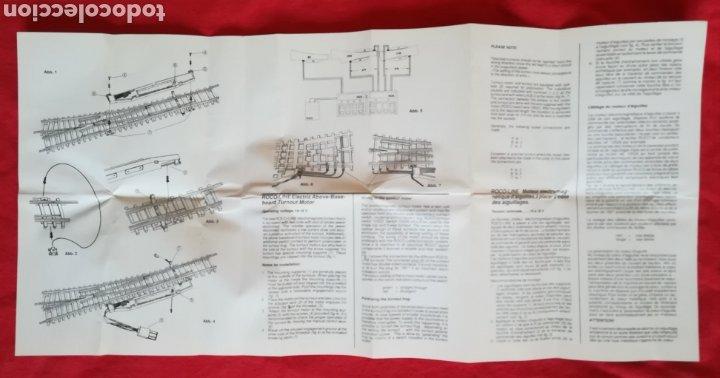 Trenes Escala: MOTOR ELÉCTRICO PARA INTERCAMBIO DERECHO - ROCO 40296 - EN SU CAJA ORIGINAL, SIN ESTRENAR - PJRB - Foto 4 - 253553645
