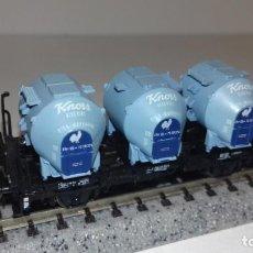Trenes Escala: ROCO N PLATAFORMA DEPOSITOS KNORR -- L49-030 (CON COMPRA DE 5 LOTES O MAS, ENVÍO GRATIS). Lote 254409805