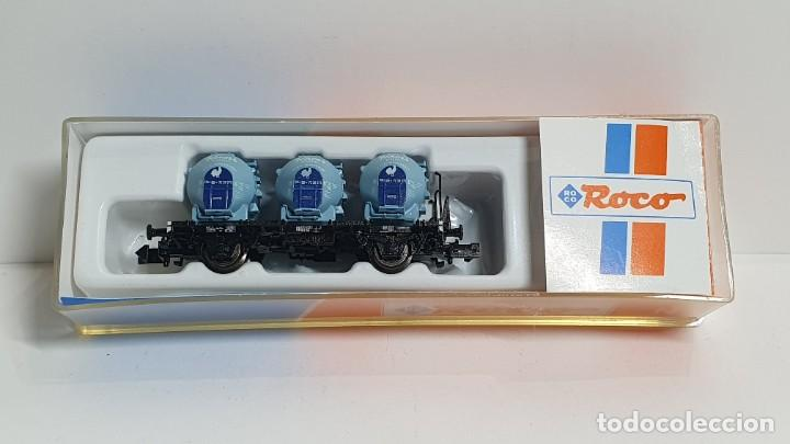 ROCO 25280, VAGÓN 3 DEPÓSITOS KNORR DE LA DB, ESCALA N (Juguetes - Trenes a Escala N - Roco N)
