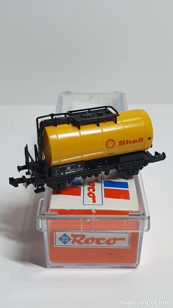 Trenes Escala: ROCO 25038, VAGÓN CISTERNA SHELL DE LA DB, ESCALA N - Foto 3 - 254930760