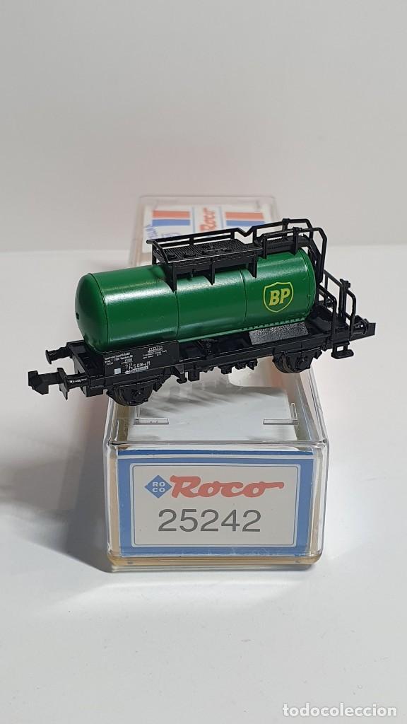 Trenes Escala: ROCO 25242, VAGÓN CISTERNA BP DE LA DB, ESCALA N - Foto 2 - 254932745