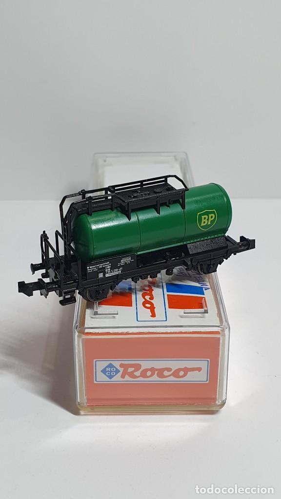 Trenes Escala: ROCO 25242, VAGÓN CISTERNA BP DE LA DB, ESCALA N - Foto 3 - 254932745