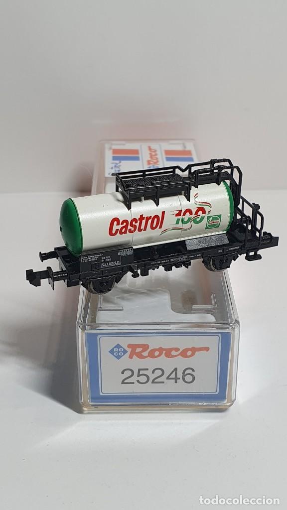 Trenes Escala: ROCO 25246, VAGÓN CISTERNA CASTROL DE LA ÖBB, ESCALA N - Foto 2 - 254933275