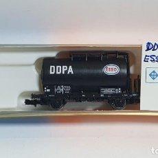Trenes Escala: ROCO 25535, VAGÓN CISTERNA DDPA ESSO DE LA DSB, ESCALA N. Lote 254980190