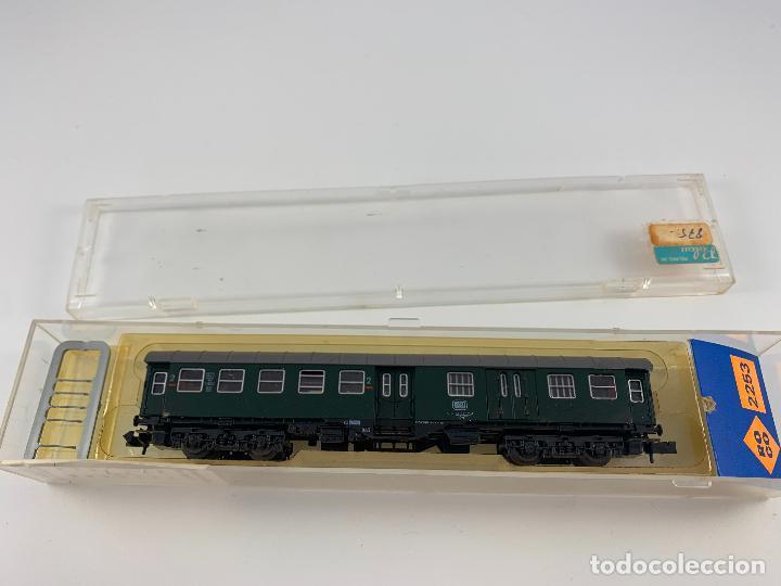 ROCO ESCALA N VAGON PASAJEROS RFA 2253 (Juguetes - Trenes a Escala N - Roco N)