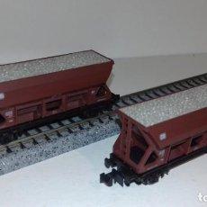 Trenes Escala: ROCO N 2 TOLVAS GRAVA -- L49-134 (CON COMPRA DE 5 LOTES O MAS, ENVÍO GRATIS). Lote 257691040