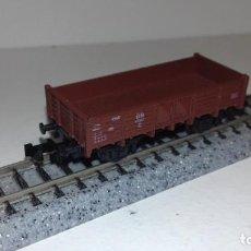 Trenes Escala: ROCO N BORDE BAJO CORTO -- L49-144 (CON COMPRA DE 5 LOTES O MAS, ENVÍO GRATIS). Lote 260725375