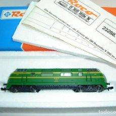 Trenes Escala: LOCOMOTORA DIESEL 4000 RENFE ROCO ESCALA N REF 23288.1 A ESTRENAR. Lote 261598210