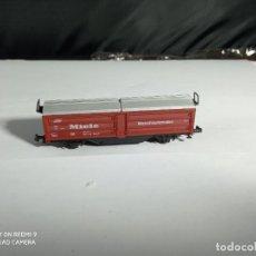 Trenes Escala: VAGÓN CERRADO ESCALA N DE ROCO. Lote 262144120