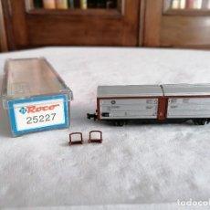 Trenes Escala: ROCO N 25227 VAGÓN TECHO CORREDIZO DB ALEMÁN NUEVO OVP. Lote 264287612