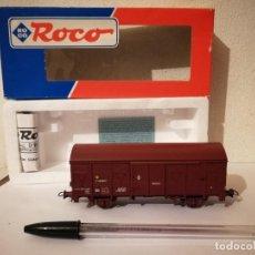 Trenes Escala: VAGON CERRADO ROCO - TREN - ESCALA N - RENFE. Lote 266981339