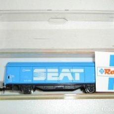 Trenes Escala: VAGON DE MERCANCIAS RENFE SEAT ROCO ESCALA N. Lote 272633813
