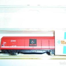Trenes Escala: VAGON DE MERCANCIAS RENFE PASTAS GALLO ROCO ESCALA N LOTE 2. Lote 272634038