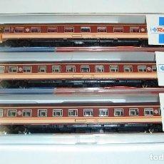 Trenes Escala: LOTE DE VAGONES DE PASAJEROS RENFE ESTRELLA ROCO ESCALA N. Lote 272635763