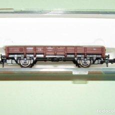 Trenes Escala: VAGÓN BORDE BAJO DE LA DB EN ESCALA *N* DE ROCO. Lote 274385798