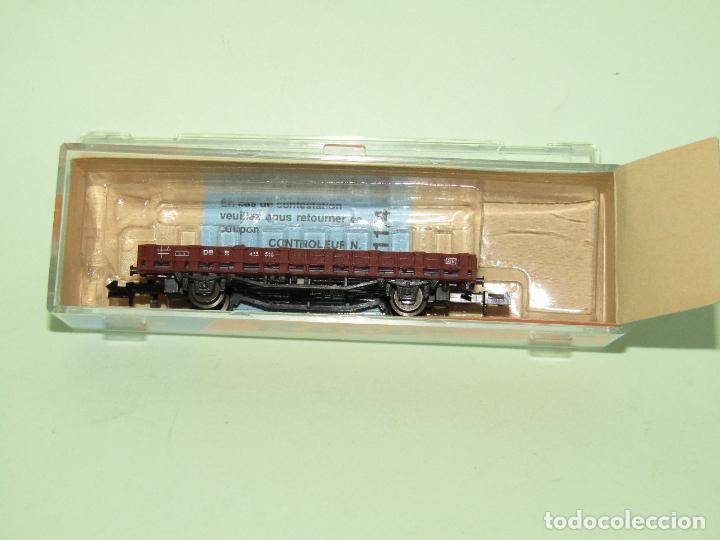 Trenes Escala: Vagón Borde Bajo de la DB en Escala *N* de ROCO - Foto 2 - 274386968