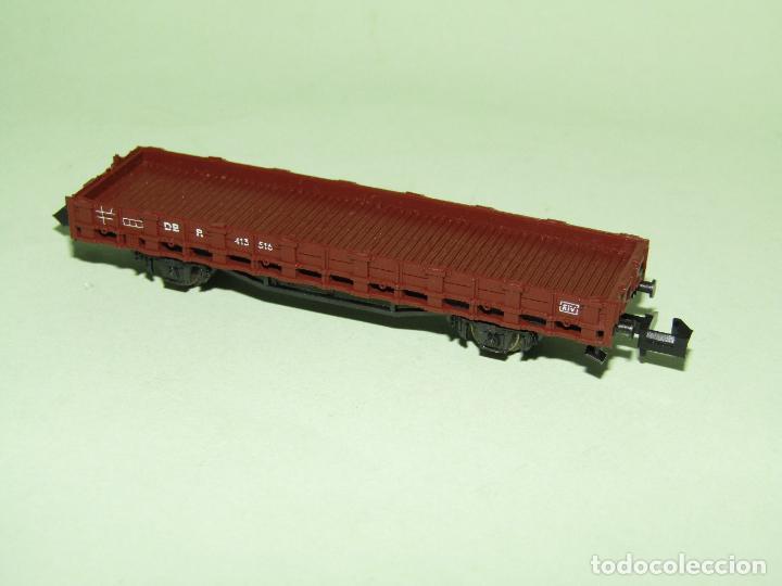 Trenes Escala: Vagón Borde Bajo de la DB en Escala *N* de ROCO - Foto 3 - 274386968
