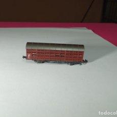 Comboios Escala: VAGÓN CERRADO ESCALA N DE ROCO. Lote 275954633