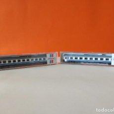 Trenes Escala: ROCO N 2 VAGONES VIAJEROS RENFE INTERCITY REF.-24287 Y 24288. Lote 277129618