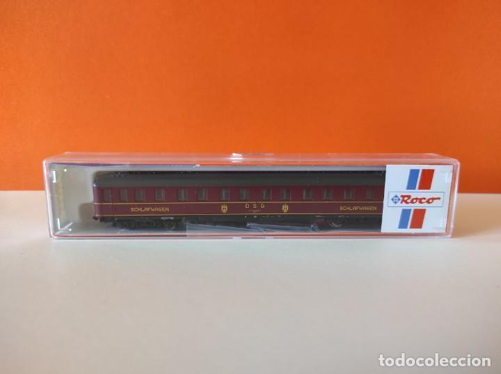 ROCO N VAGON PASAJEROS COCHE CAMA DGS REF. 24239 (Juguetes - Trenes a Escala N - Roco N)