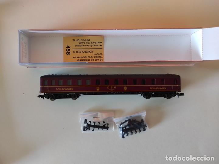 Trenes Escala: ROCO N VAGON PASAJEROS COCHE CAMA DGS REF. 24239 - Foto 3 - 277134388