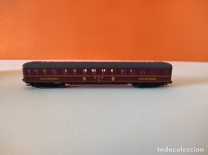 Trenes Escala: ROCO N VAGON PASAJEROS COCHE CAMA DGS REF. 24239 - Foto 4 - 277134388