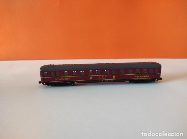 Trenes Escala: ROCO N VAGON PASAJEROS COCHE CAMA DGS REF. 24239 - Foto 6 - 277134388