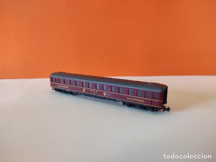 Trenes Escala: ROCO N VAGON PASAJEROS COCHE CAMA DGS REF. 24239 - Foto 8 - 277134388