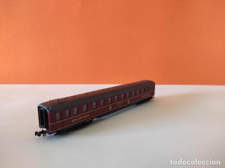 Trenes Escala: ROCO N VAGON PASAJEROS COCHE CAMA DGS REF. 24239 - Foto 9 - 277134388