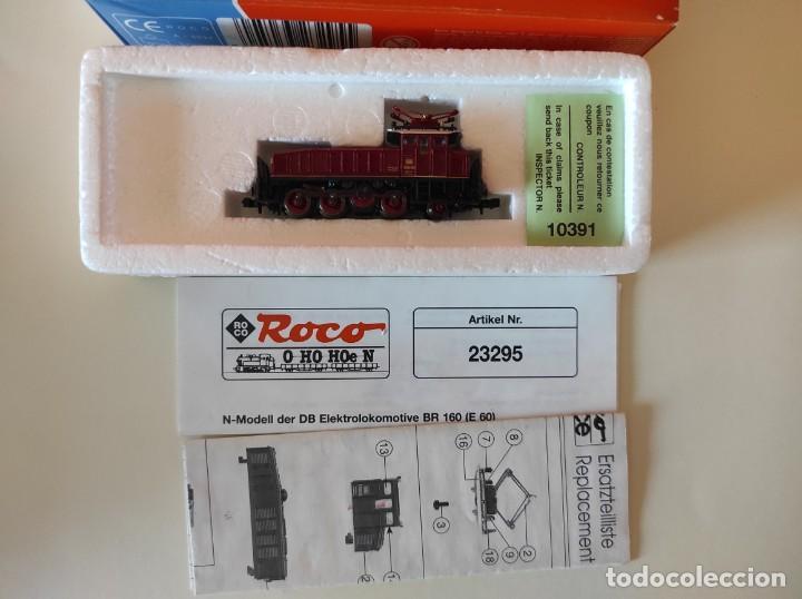 Trenes Escala: ROCO N LOCOMOTORA ELECTRICA DB REF 23295 - Foto 2 - 277171633