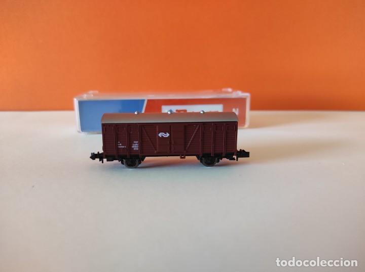 Trenes Escala: ROCO N VAGON MERCANCIAS RENFE REF. 25437 - Foto 3 - 277250223