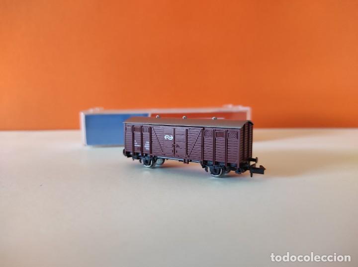 Trenes Escala: ROCO N VAGON MERCANCIAS RENFE REF. 25437 - Foto 6 - 277250223