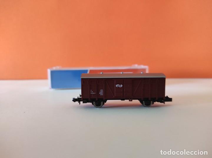 Trenes Escala: ROCO N VAGON MERCANCIAS RENFE REF. 25437 - Foto 7 - 277250223