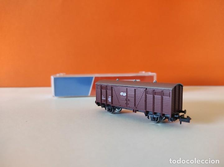 Trenes Escala: ROCO N VAGON MERCANCIAS RENFE REF. 25437 - Foto 9 - 277250223