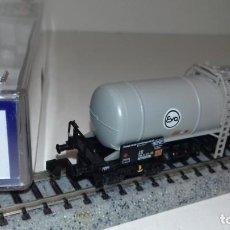 Trenes Escala: ROCO N CISTERNA 4 EJES EVA 24023 -- L51-017 (CON COMPRA DE 5 LOTES O MAS, ENVÍO GRATIS). Lote 286872523