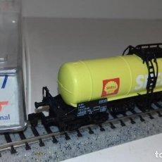 Trenes Escala: ROCO N CISTERNA 4 EJES SHELL 25517 -- L51-019 (CON COMPRA DE 5 LOTES O MAS, ENVÍO GRATIS). Lote 286872853
