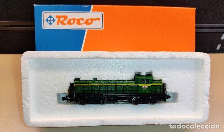 LOCOMOTORA DIESEL RENFE ROCO 23226 LA VALENCIANA DE RENFE EN EXCELENTE ESTADO (Juguetes - Trenes a Escala N - Roco N)